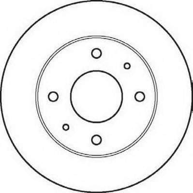 JURID 561861J Тормозной диск
