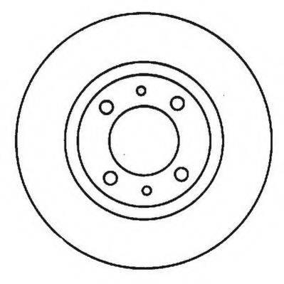 JURID 561923J Тормозной диск