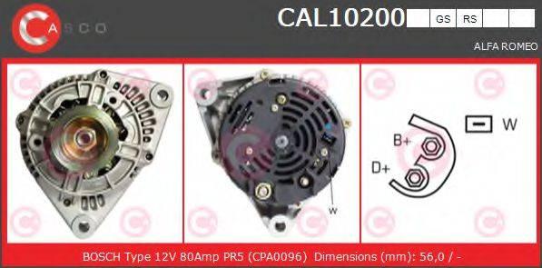 CASCO CAL10200GS Генератор