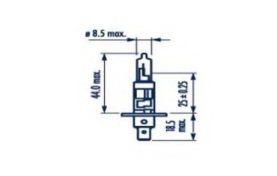 NARVA 48320 Лампа накаливания, фара дальнего света; Лампа накаливания, основная фара; Лампа накаливания, противотуманная фара; Лампа накаливания, основная фара; Лампа накаливания, фара дальнего света; Лампа накаливания, противотуманная фара; Лампа накаливания, фара с авт. системой стабилизации; Лампа накаливания, фара с авт. системой стабилизации