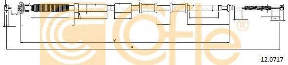 Трос, стояночная тормозная система COFLE 12.0717