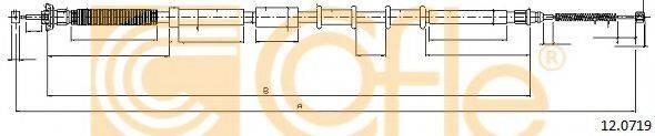 Трос, стояночная тормозная система COFLE 12.0719