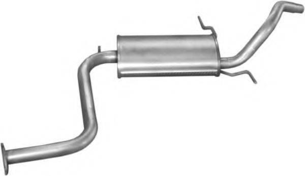 Глушитель выхлопных газов конечный POLMO 12.04