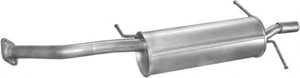 Глушитель выхлопных газов конечный POLMO 12.05