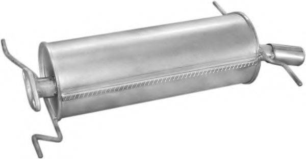 Глушитель выхлопных газов конечный POLMO 12.89