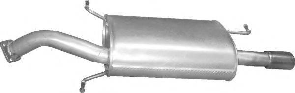 Глушитель выхлопных газов конечный POLMO 31.97