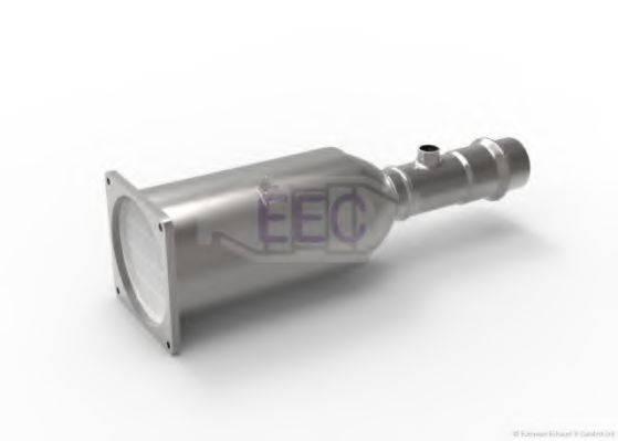 Сажевый / частичный фильтр, система выхлопа ОГ EEC DPF006