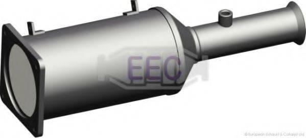 Сажевый / частичный фильтр, система выхлопа ОГ EEC DPF012