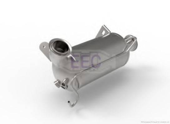 Сажевый / частичный фильтр, система выхлопа ОГ EEC DPF023