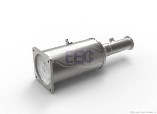 Сажевый / частичный фильтр, система выхлопа ОГ EEC DPF025