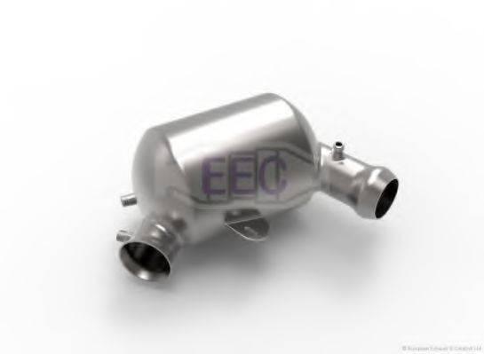 Сажевый / частичный фильтр, система выхлопа ОГ EEC DPF026