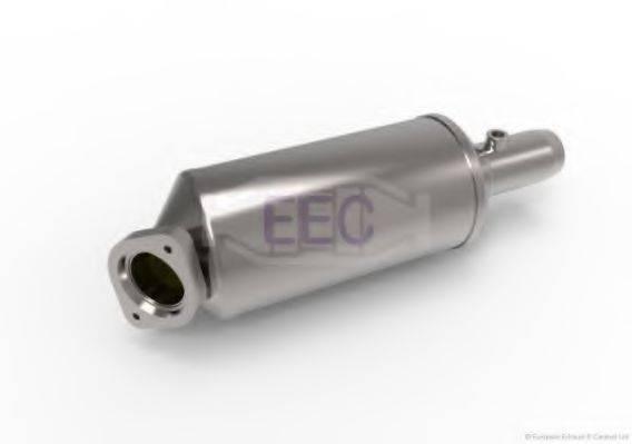 Сажевый / частичный фильтр, система выхлопа ОГ EEC DPF046