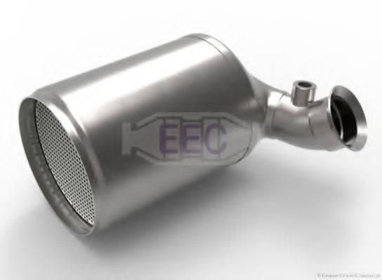Сажевый / частичный фильтр, система выхлопа ОГ EEC DPF050