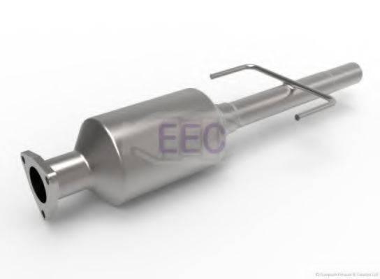 Сажевый / частичный фильтр, система выхлопа ОГ EEC DPF052