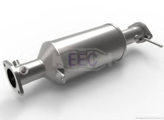 Сажевый / частичный фильтр, система выхлопа ОГ EEC DPF061