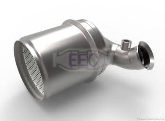 Сажевый / частичный фильтр, система выхлопа ОГ EEC DPF067