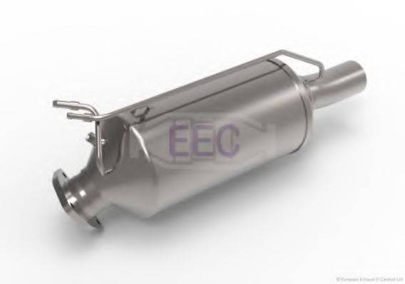 Сажевый / частичный фильтр, система выхлопа ОГ EEC DPF069