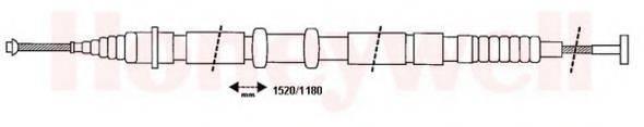 BENDIX 432004B Трос, стояночная тормозная система