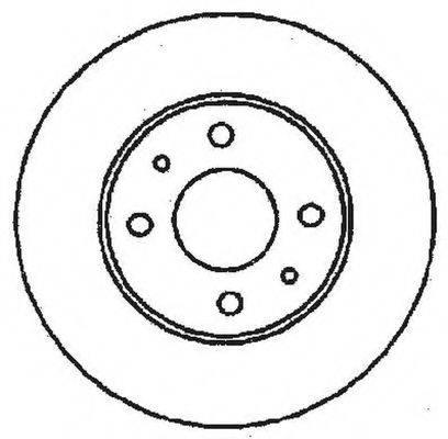 BENDIX 561380B Тормозной диск