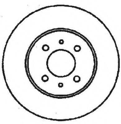 BENDIX 561469B Тормозной диск