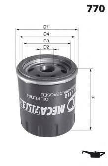 LUCAS FILTERS LFOS156 Масляный фильтр