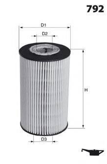 LUCAS FILTERS LFOE236 Масляный фильтр