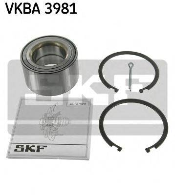 SKF VKBA3981 Комплект подшипника ступицы колеса