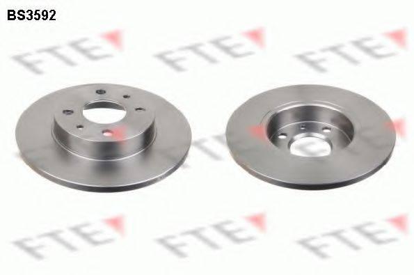 FTE BS3592 Тормозной диск