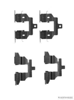 HERTH+BUSS JAKOPARTS J3661023 Комплектующие, колодки дискового тормоза