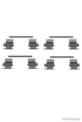 HERTH+BUSS JAKOPARTS J3661026 Комплектующие, колодки дискового тормоза