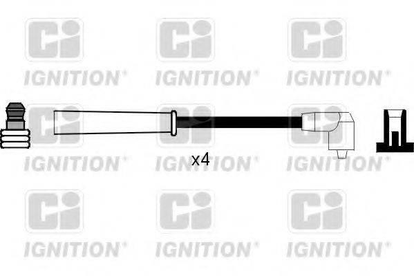 QUINTON HAZELL XC824 Комплект проводов зажигания