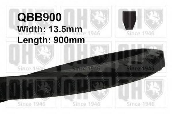 QUINTON HAZELL QBB900 Клиновой ремень