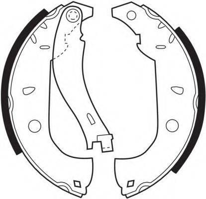FERODO FSB307 Комплект тормозных колодок