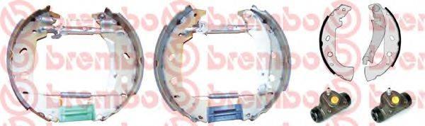 BREMBO K23032 Комплект тормозных колодок