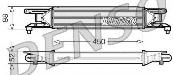 Интеркулер DENSO DIT01001