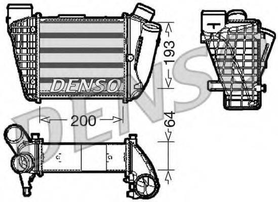 Интеркулер DENSO DIT02004
