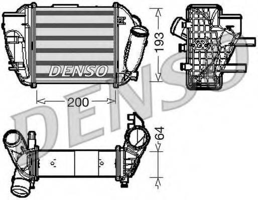 Интеркулер DENSO DIT02005