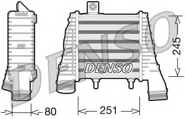 Интеркулер DENSO DIT02008
