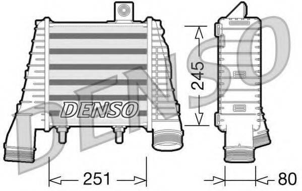 Интеркулер DENSO DIT02009