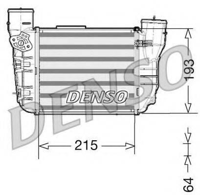 Интеркулер DENSO DIT02020