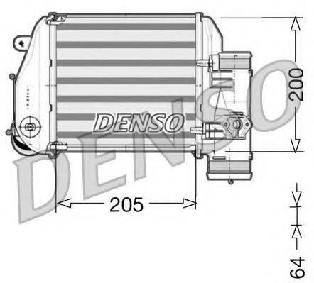 Интеркулер DENSO DIT02024