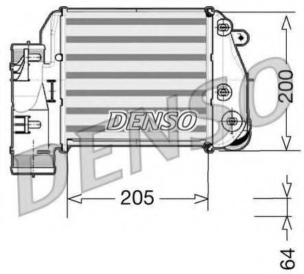Интеркулер DENSO DIT02025