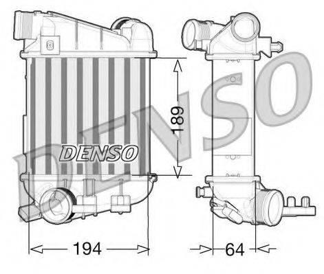 Интеркулер DENSO DIT02027