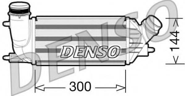 Интеркулер DENSO DIT07001