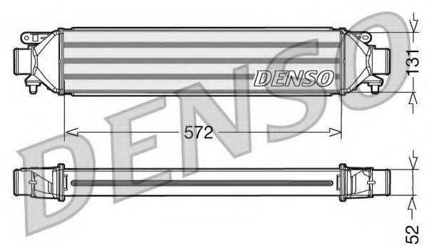 Интеркулер DENSO DIT09107