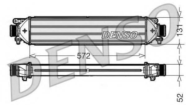 Интеркулер DENSO DIT09109