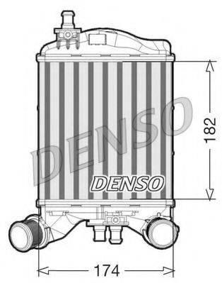 Интеркулер DENSO DIT09111