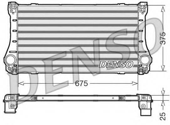 Интеркулер DENSO DIT50005