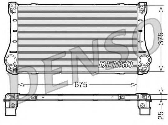 Интеркулер DENSO DIT50006
