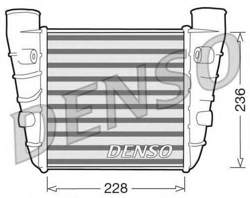 Интеркулер DENSO DIT99001